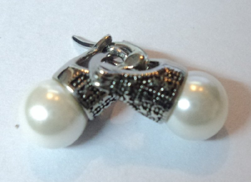 ACERO AROS OPEN AROS LADY DI 8MM BLANCO